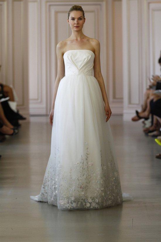 Свадебные платья Oscar de la Renta весна 2016 фото №21