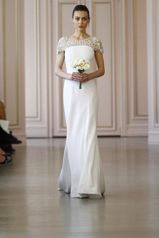 Свадебные платья Oscar de la Renta весна 2016 фото №22