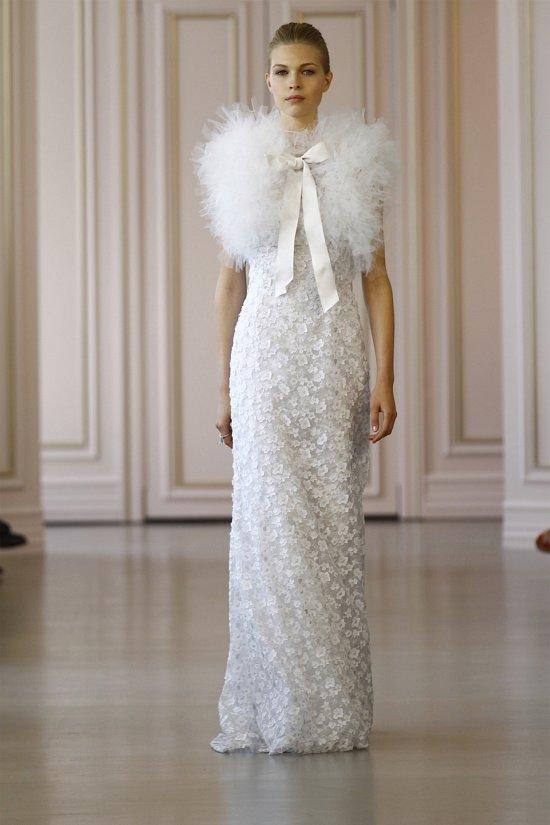 Свадебные платья Oscar de la Renta весна 2016 фото №24