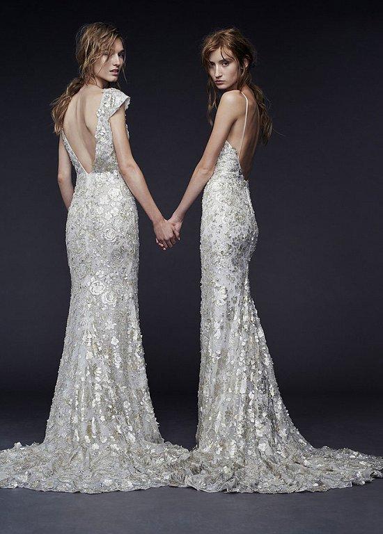 Свадебные платья Vera Wang осень-зима 2015-2016 фото №2