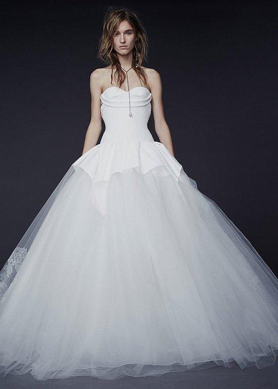 Свадебные платья Vera Wang осень-зима 2015-2016 фото №3