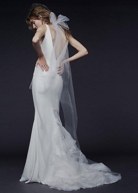 Свадебные платья Vera Wang осень-зима 2015-2016 фото №4
