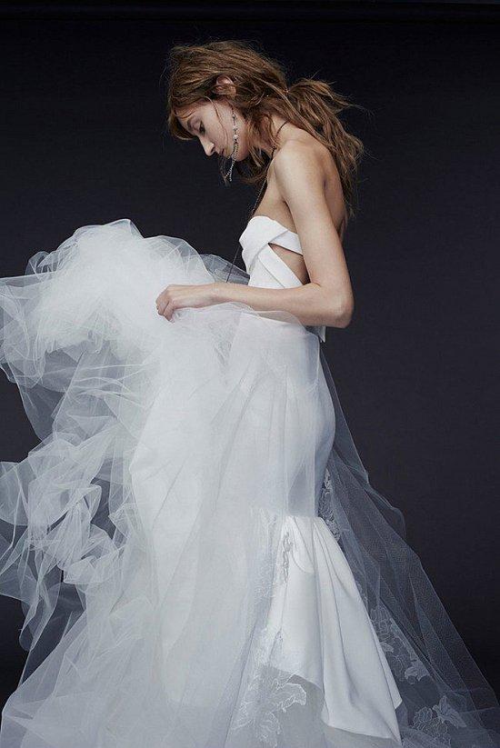 Свадебные платья Vera Wang осень-зима 2015-2016 фото №6