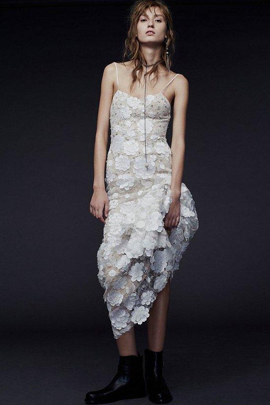 Свадебные платья Vera Wang осень-зима 2015-2016 фото №7