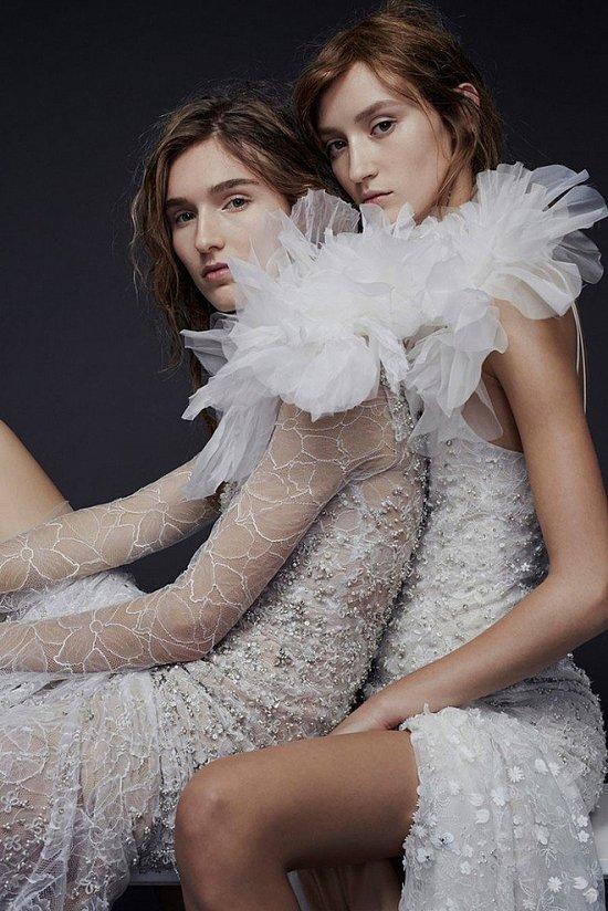 Свадебные платья Vera Wang осень-зима 2015-2016 фото №13