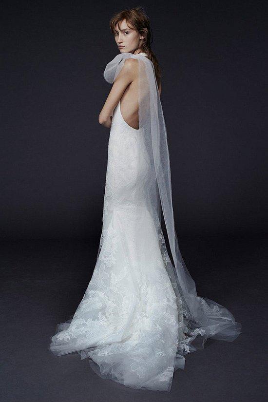Свадебные платья Vera Wang осень-зима 2015-2016 фото №11