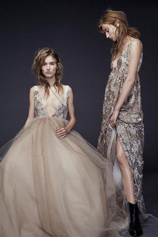 Свадебные платья Vera Wang осень-зима 2015-2016 фото №12