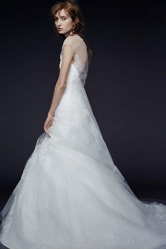 Свадебные платья Vera Wang осень-зима 2015-2016 фото №10