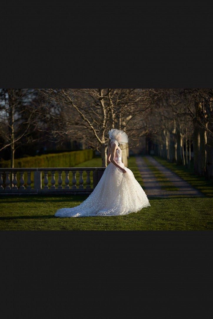 Свадебные платья Vera Wang весна 2017 фото №10