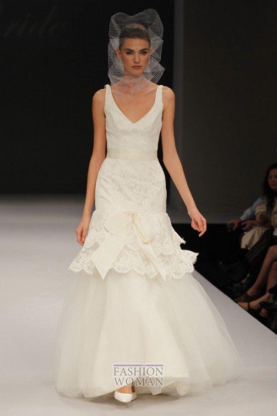 свадебные платья весна 2012