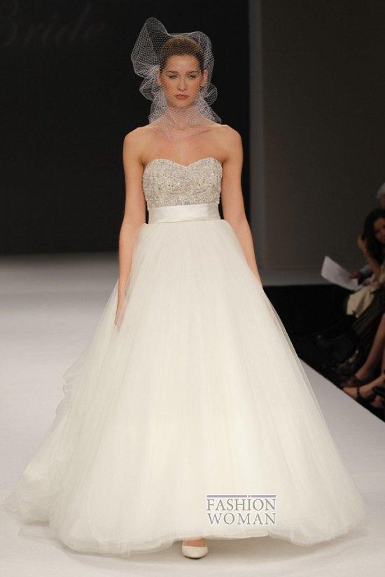 Пышное свадебное платье от Badgley Mischka