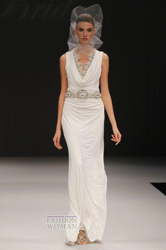 Длинное свадебное платье от Бежевое свадебное платье Badgley Mischka