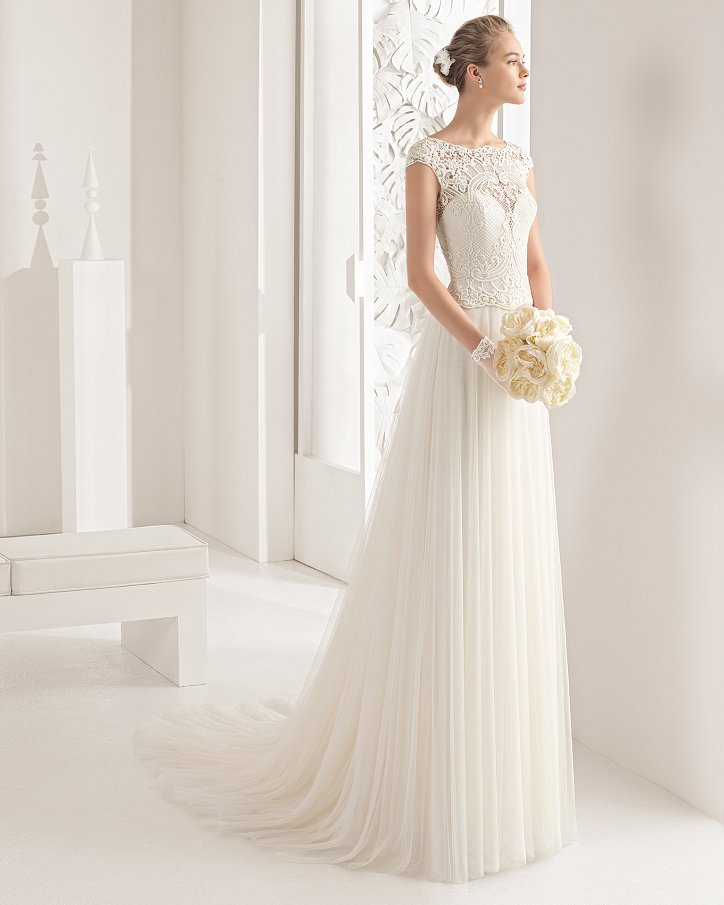 Свадебные платья весна 2017: Rosa Clara фото №57