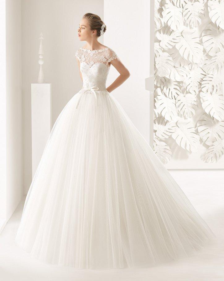 Свадебные платья весна 2017: Rosa Clara фото №64