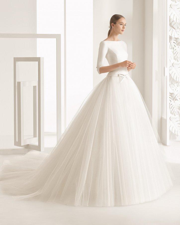 Свадебные платья весна 2017: Rosa Clara фото №68