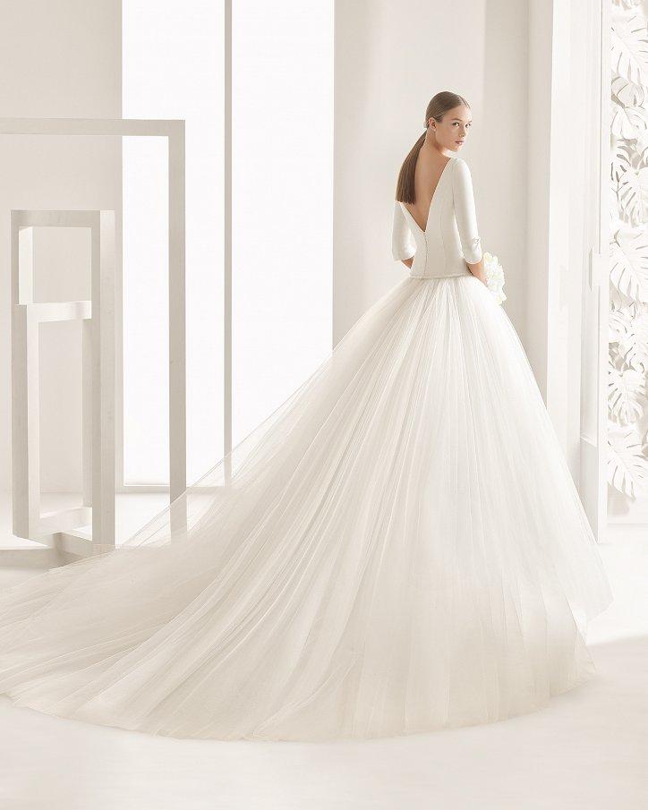 Свадебные платья весна 2017: Rosa Clara фото №69