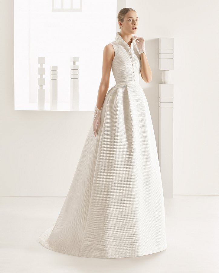 Свадебные платья весна 2017: Rosa Clara фото №72