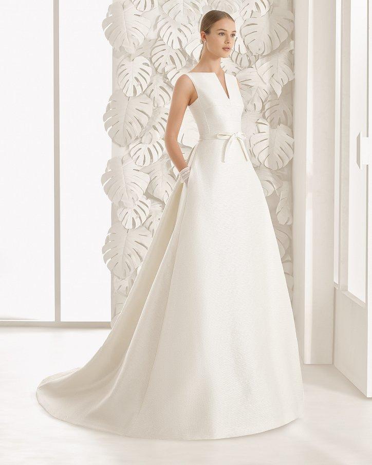 Свадебные платья весна 2017: Rosa Clara фото №74