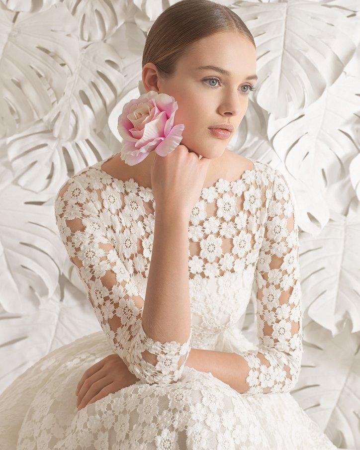 Свадебные платья весна 2017: Rosa Clara фото №78