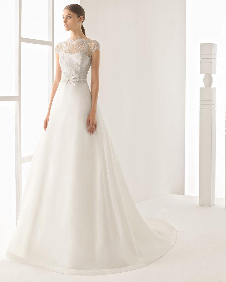 Свадебные платья весна 2017: Rosa Clara фото №79