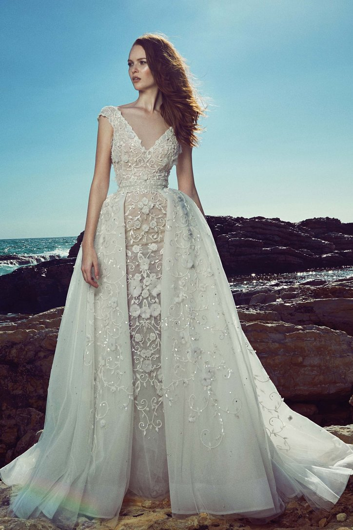 Свадебные платья весна 2017: Zuhair Murad фото №6