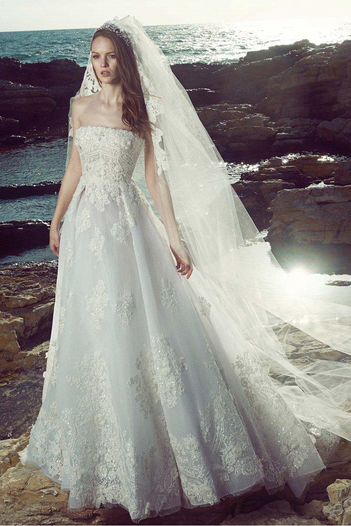 Свадебные платья весна 2017: Zuhair Murad фото №9