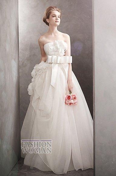 Свадебные платья Vera Wang весна-лето 2012