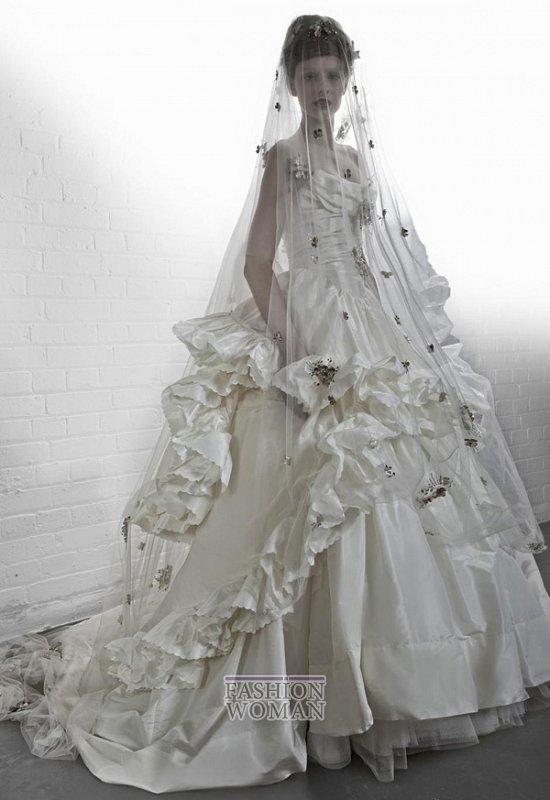 Свадебные платья Vivienne Westwood осень-зима 2012-2013 фото №6