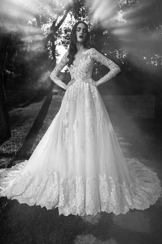 Свадебные платья Zuhair Murad осень 2016 фото №5