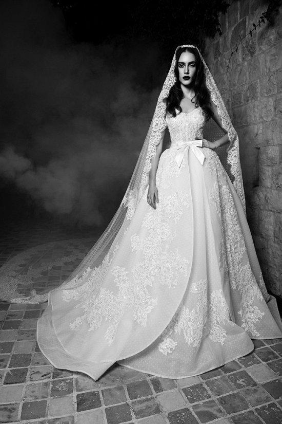 Свадебные платья Zuhair Murad осень 2016 фото №7