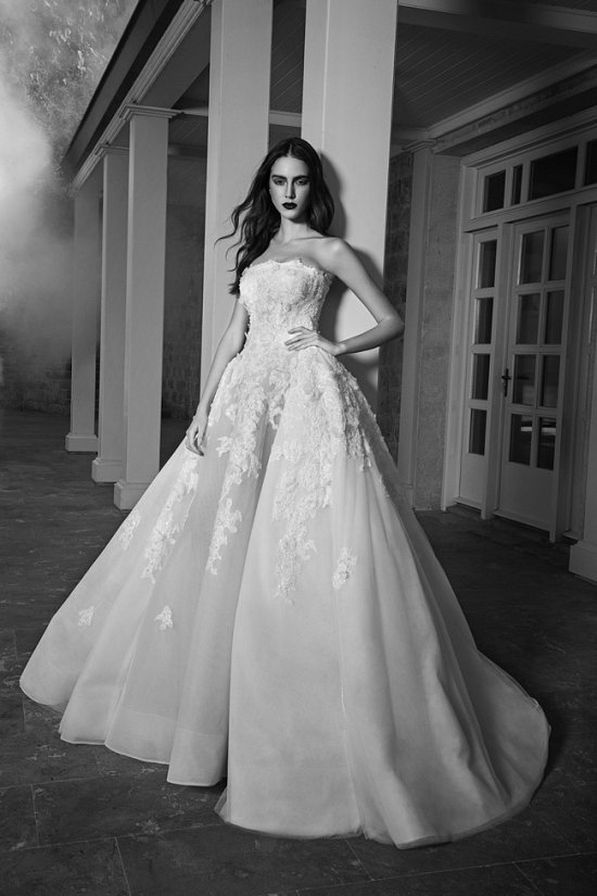Свадебные платья Zuhair Murad осень 2016 фото №8