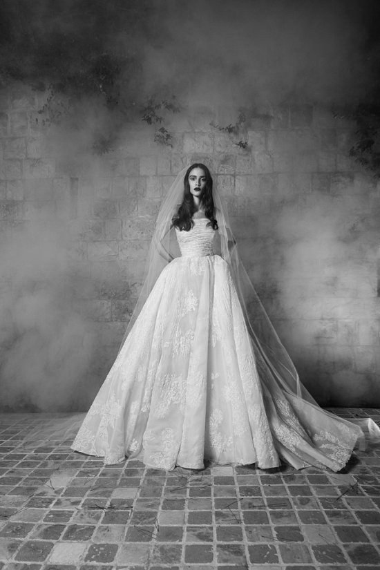 Свадебные платья Zuhair Murad осень 2016 фото №14