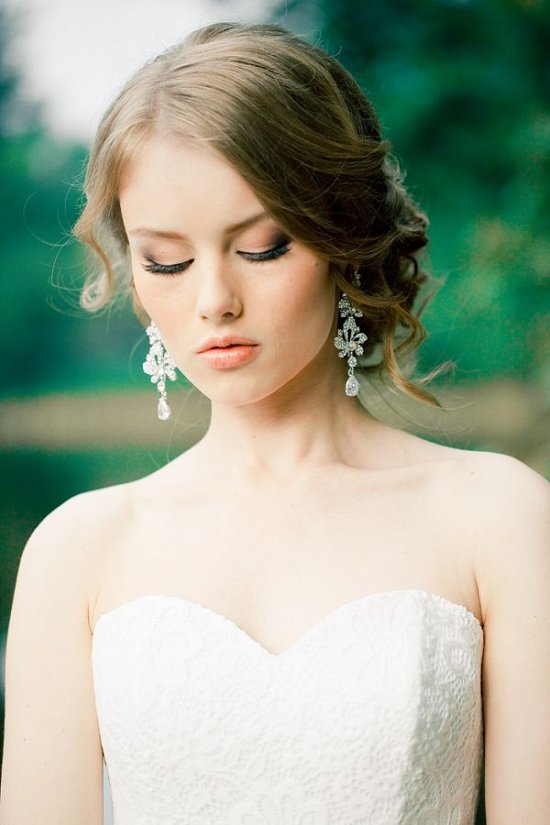Свадебные прически. 40  фото фото №11
