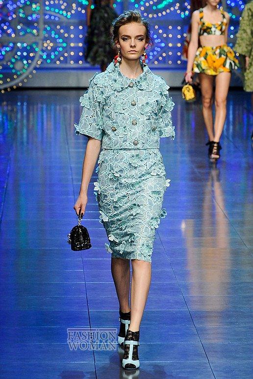 Dolce & Gabbana весна-лето 2012