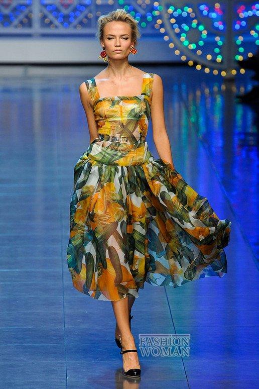 летний сарафан Dolce & Gabbana