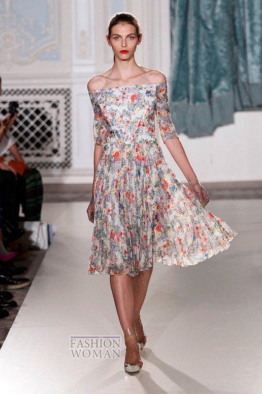 модные платья лето 2012