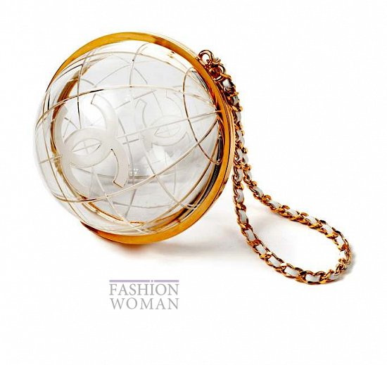 сумка глобус Шанель