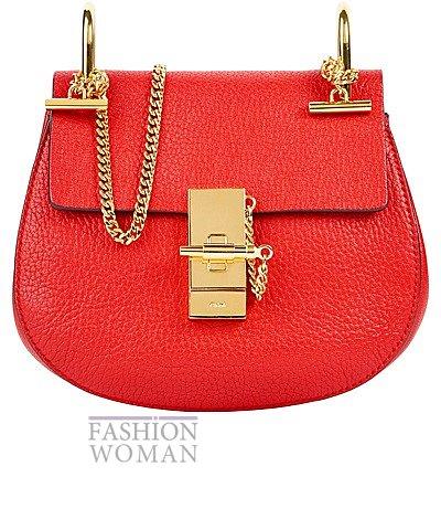 красная сумка