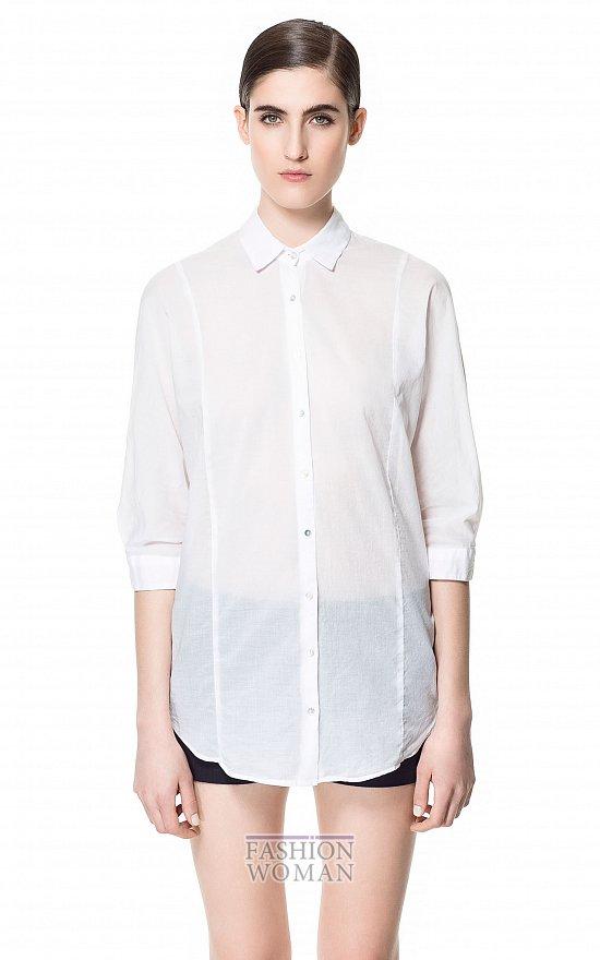 Тренд сезона - белая рубашка фото №20