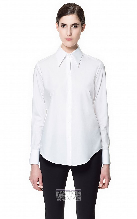 Тренд сезона - белая рубашка фото №21