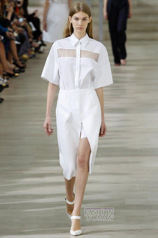 Тренд сезона - белая рубашка фото №6