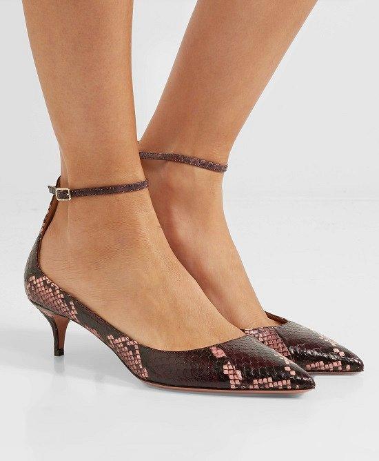 Туфли на низком каблуке - модный тренд сезона фото №3