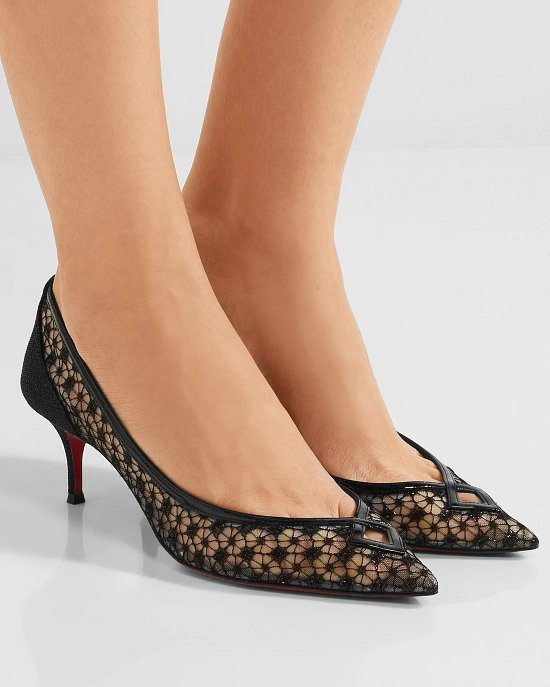 Туфли на низком каблуке - модный тренд сезона фото №6