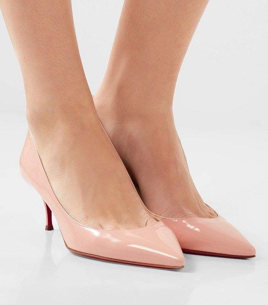 Туфли на низком каблуке - модный тренд сезона фото №12