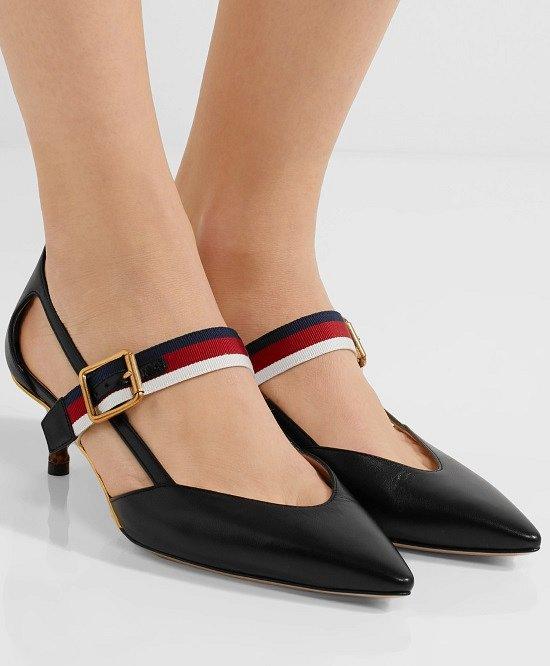 Туфли на низком каблуке - модный тренд сезона фото №2