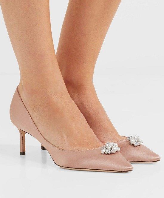 Туфли на низком каблуке - модный тренд сезона фото №14