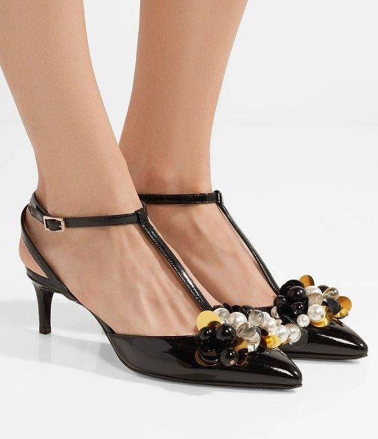 Туфли на низком каблуке - модный тренд сезона фото №7