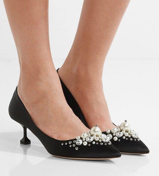 Туфли на низком каблуке - модный тренд сезона фото №15