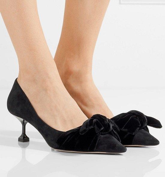 Туфли на низком каблуке - модный тренд сезона фото №5