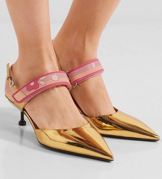Туфли на низком каблуке - модный тренд сезона фото №10